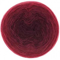 Rico Creative Wool Degrade - wine reds